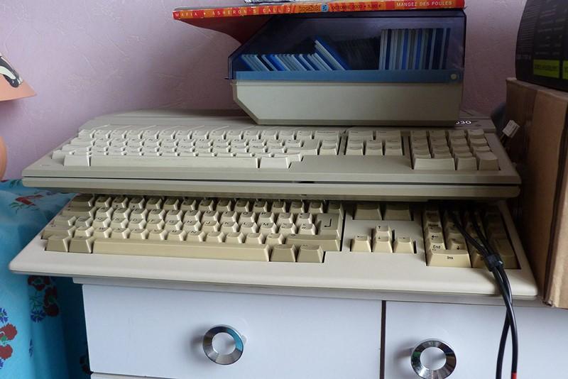 Atari ST + CosmosEx et Amiga 500 + ACA500 - amis toujours